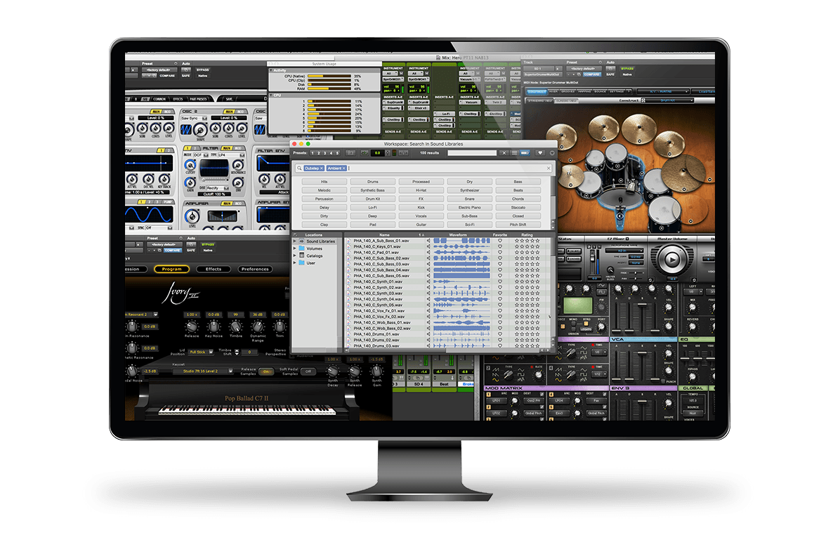 Pro Tools Subscriptions - Music Software - Avid