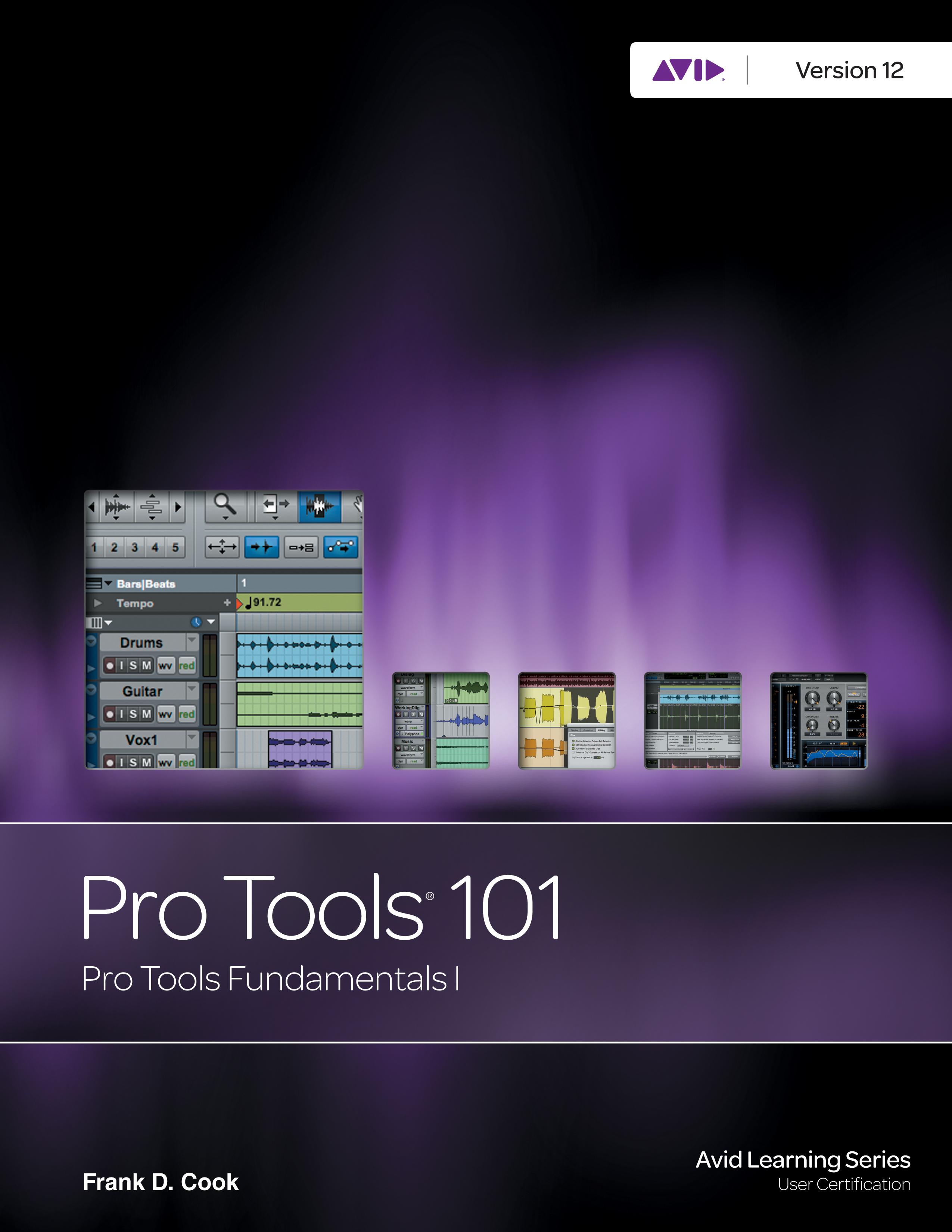 Pro Tools Fundamentals I Ebook